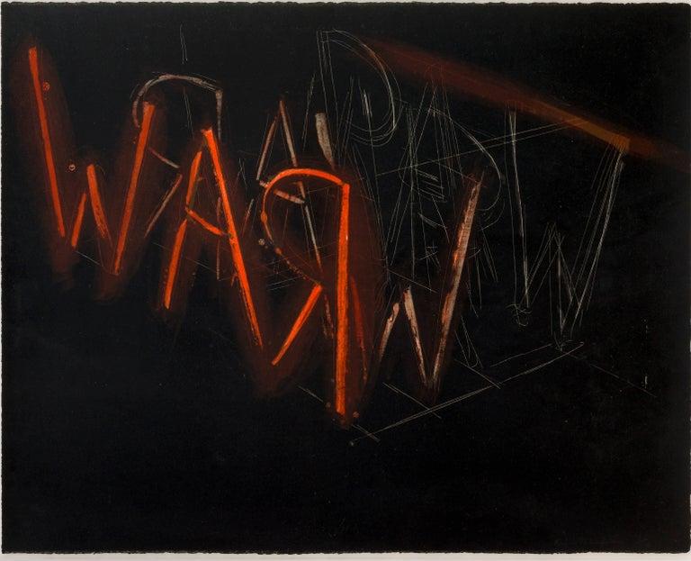 Raw War - Print by Bruce Nauman