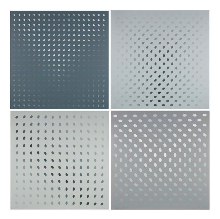 bridget riley nineteen greys print for sale at 1stdibs