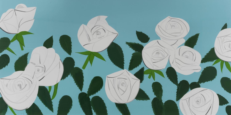 alex katz   white roses for sale at 1stdibs