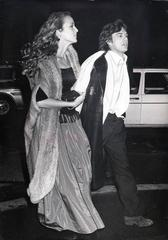 Mick Jagger & Jerry Hall, Paris, 1978