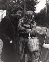 Jane Birkin & Serge Gainsbourg, c. 1969 Original press print