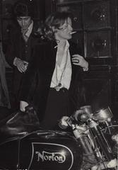 Romy Schneider, Paris, c.1972 Original press print