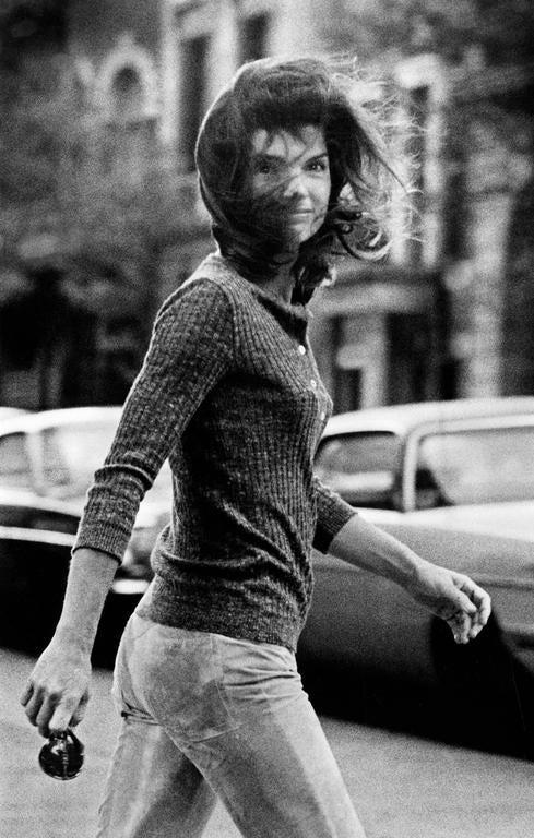 Ron Galella - Jackie Kennedy Onassis, New York, 1971 1