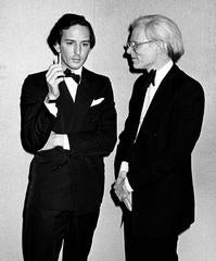 Andy Warhol & Fred Hughes, New York, 1975