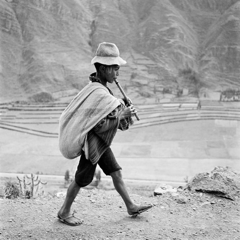 Werner Bischof - On the Way to Cuzco, Peru, 1954 1
