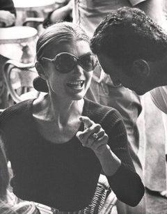 Jackie Kennedy Onassis, Capri, 1970