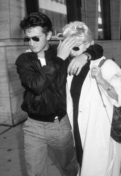 Sean Penn & Madonna, New York, 1986