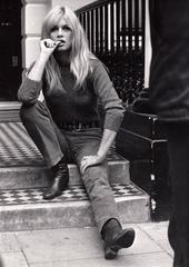 Brigitte Bardot, London, 1966 Original Vintage print