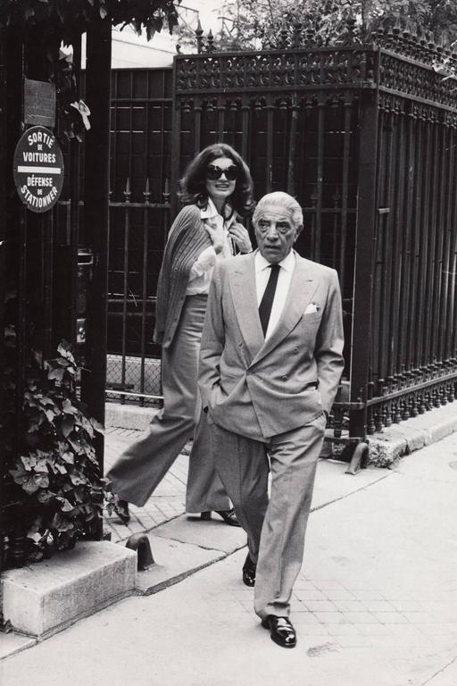 Daniel Angeli Aristotle Onassis And Jackie O Paris C