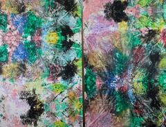 #27 & #28 Diptych large composition