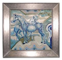Blue Horses, The Circus Ring