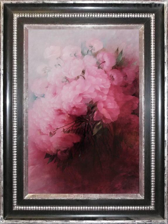 Konrad Filip Still-Life Painting - Peonies