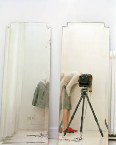 Artist and Model Reflected in a Mirror 1