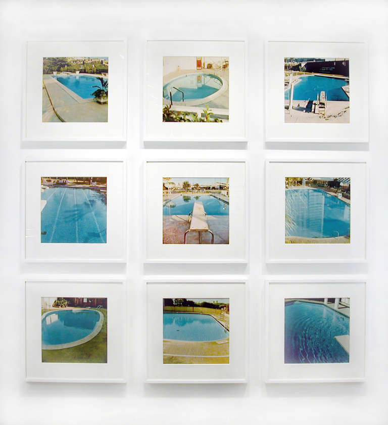 Ed Ruscha Nine Swimming Pools Photograph At 1stdibs