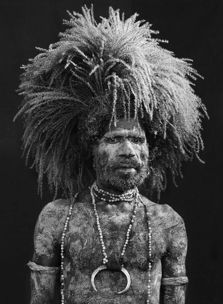 Sing-Sing participant in Mount Hagen, Western Highlands Province