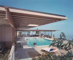 Case Study House #22 (pool), Los Angeles California