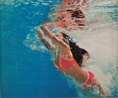 Surfacing - Blue Water, Swimming