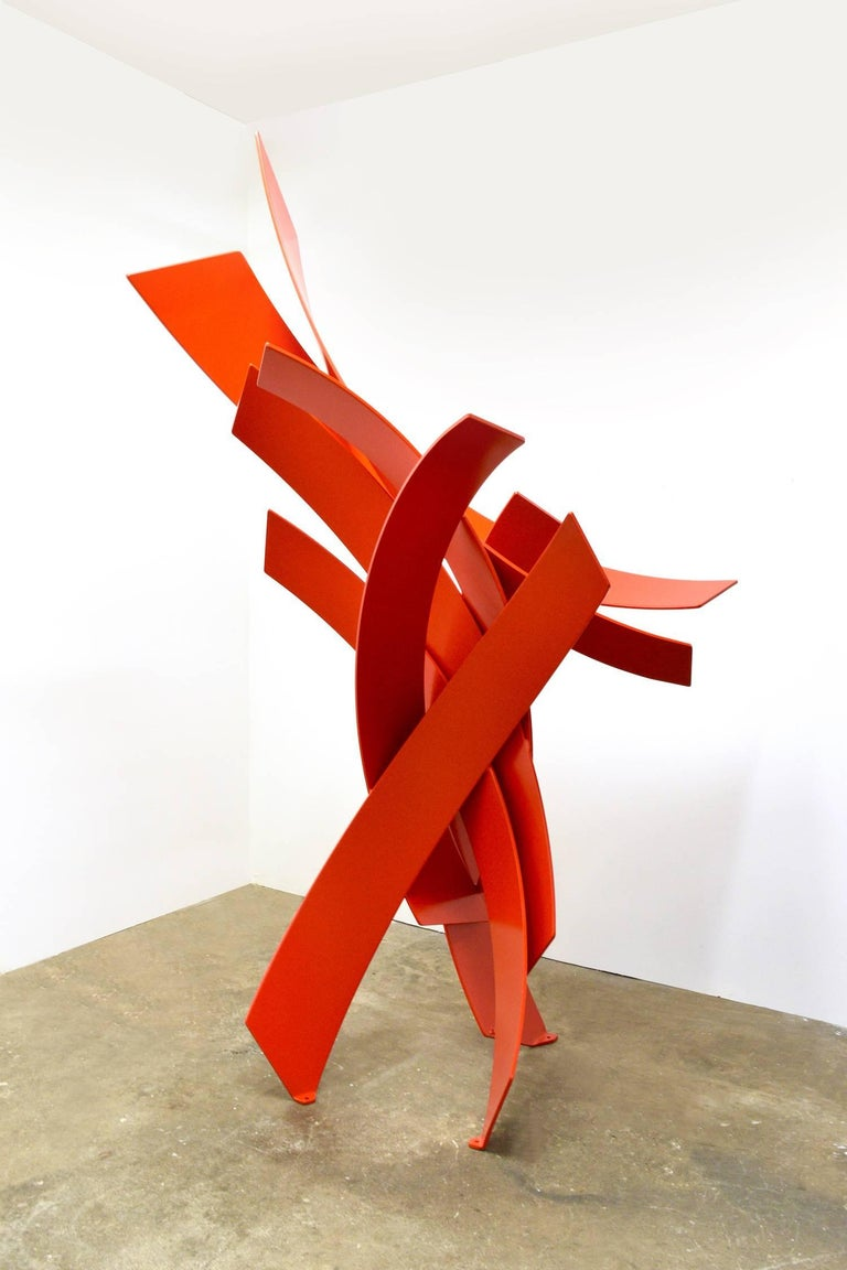Rise and Shine - Red Sculpture