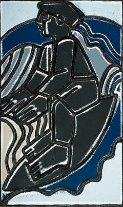 Surfer (Blue, Black, Grey)