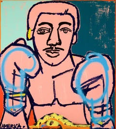 Gold Belt Boxer (Pink, Blue, Yellow)