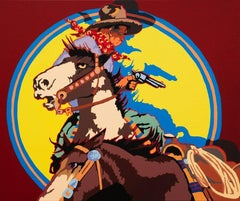 Chaos in Calgary, Cowboy and Horse