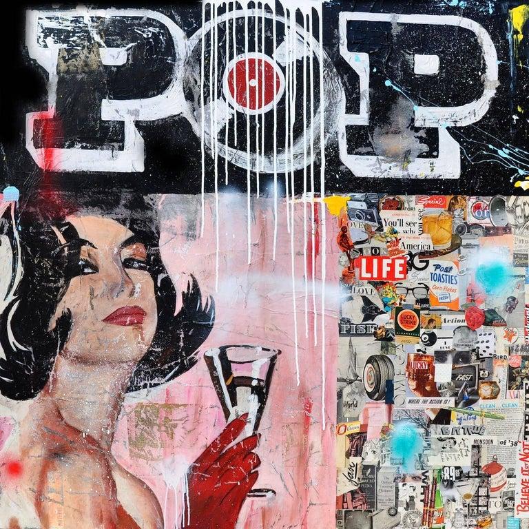 Pop (Female Figure, Pink, Black)