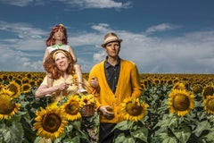 Sunflowers, Suzanne Heintz Staged Figurative Photography, Mannequins, 2015