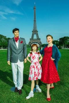 Eiffel Tower, Suzanne Heintz, Staged Figurative Photography with Mannequin, 2013