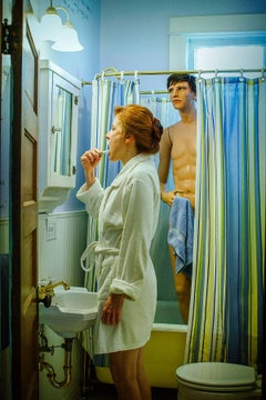 Shower, Suzanne Heintz, Figurative/Staged Photography, 2013-Cultural Commentary