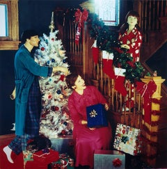The Tree, Christmas, Suzanne Heintz, Staged Photography, Satire (Figurative)