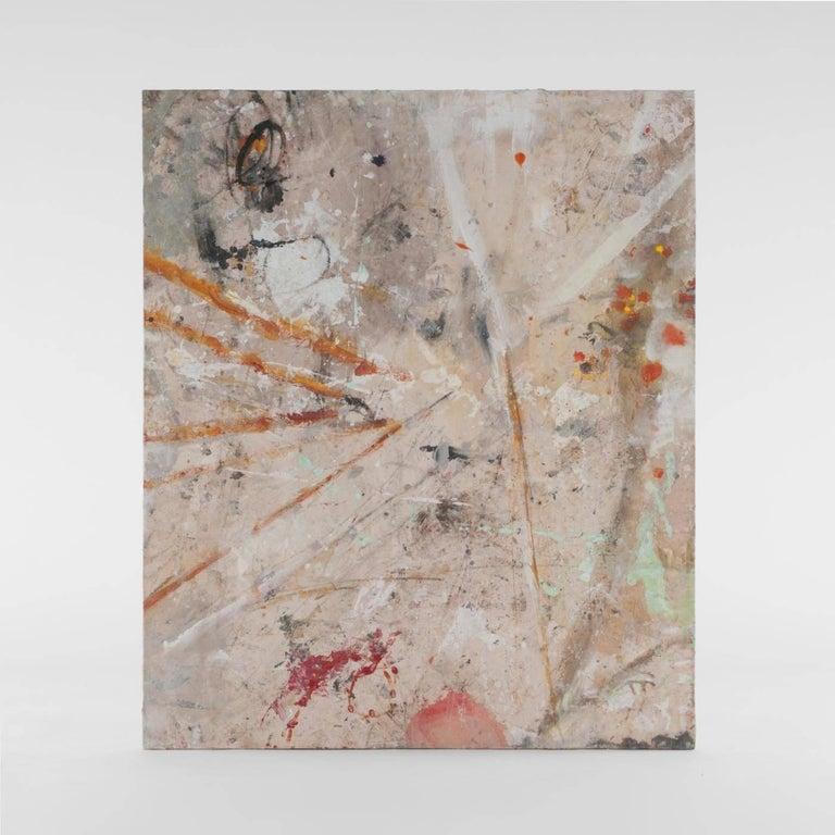 Bernd Haussmann Abstract Painting - 1194 MY SECRET WORK