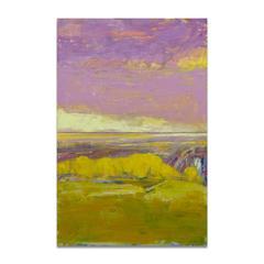 Hilltop and Lavender  Sky