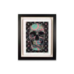 Robert Mars/Stephen Wilson Skulls Collaboration 3