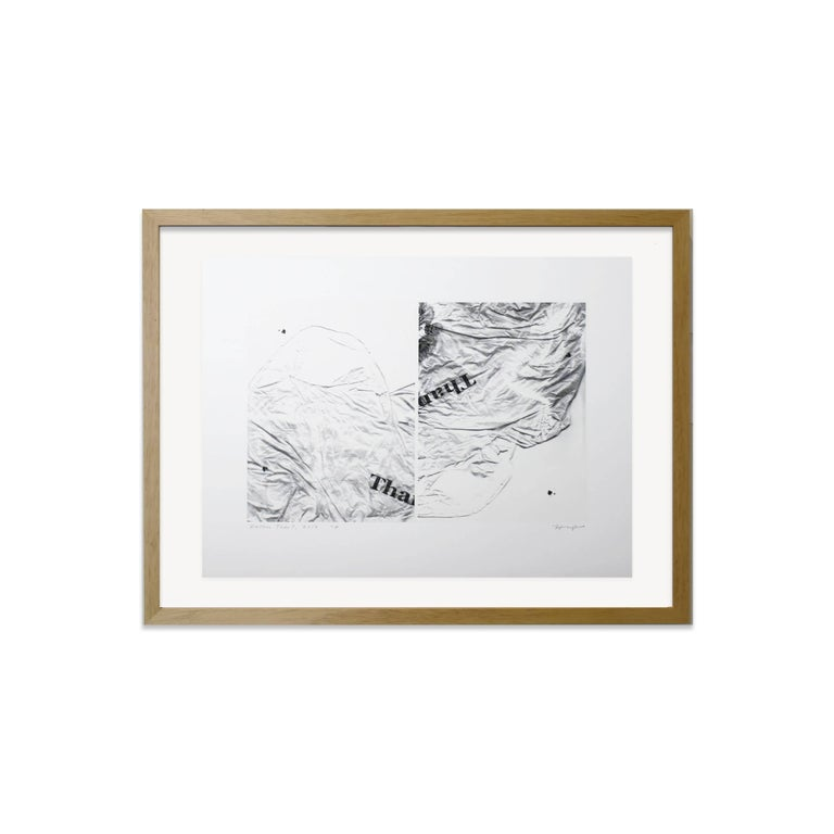 Hayley Nichols Abstract Print - Rather Than?