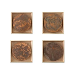 Suite of etched copper plates