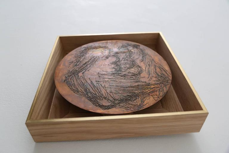 Ana Rosa De Ycaza Copper Etching Ii For Sale At 1stdibs
