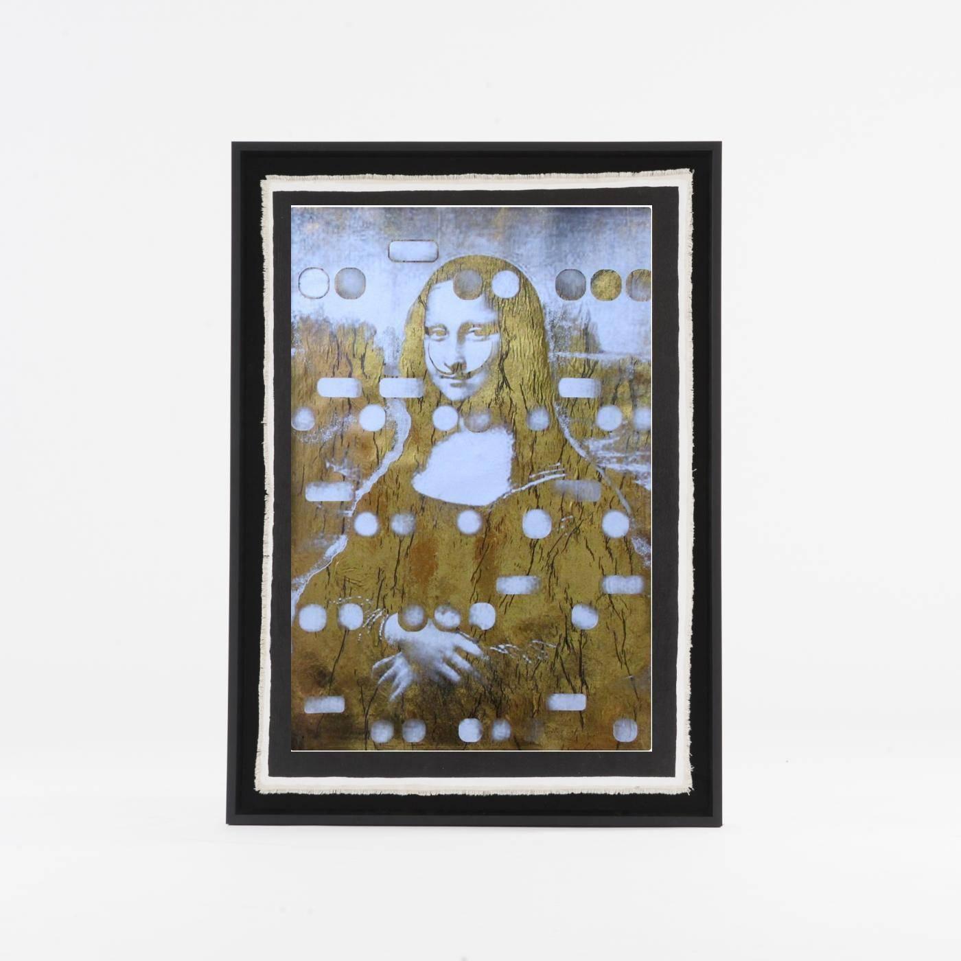 Mona as Dali, Light Gold