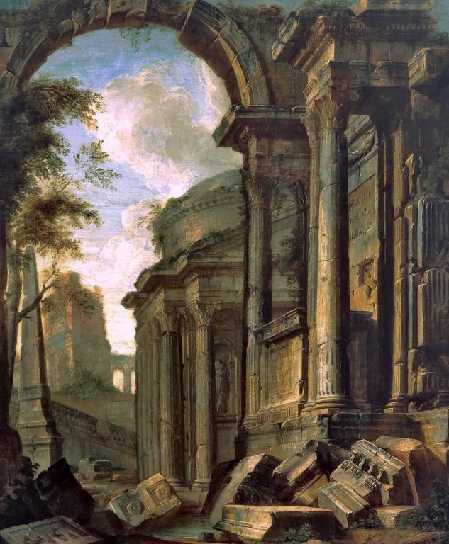 Capriccio View of Classical Ruins