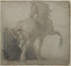 Horse Drawing - Studio of Antonio Tempesta (1555-1630)?