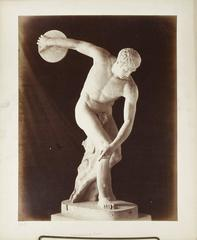 Set of 7 Grand Tour Photos of Statuary in Rome, James Anderson c. 1860