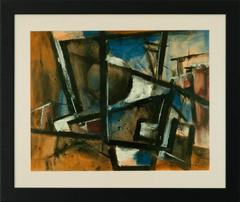 Untitled (Abstract Expressionist composition)