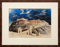 Untitled (Castle of Toledo, Spain), circa 1930
