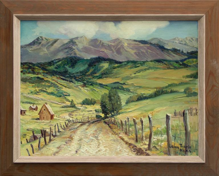 Lillian Thoele - Airstrip Road - Mt. Telluride, Colorado 1