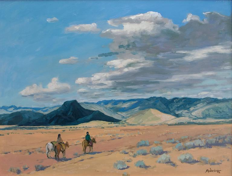 Midday Journey - Painting by John Modesitt