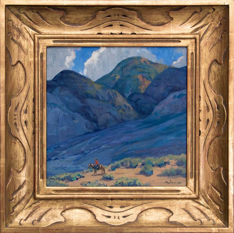 John Modesitt Landscape Painting - Near Taos (New Mexico)