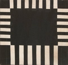 Untitled (Abstract in Black and White)