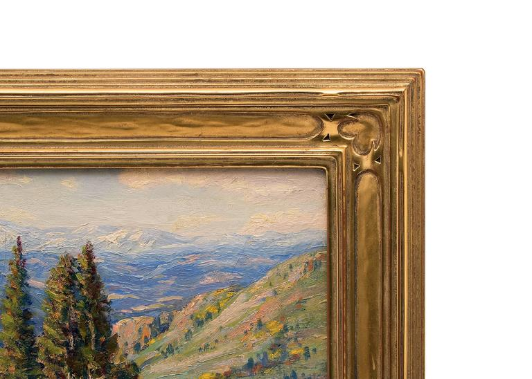 Untitled (View of the Continental Divide from near Genesee, Colorado) For Sale 1