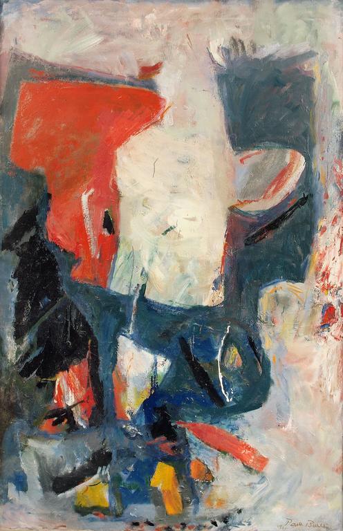 White Phantom - Painting by Paul Burlin