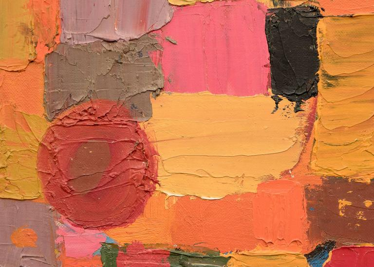Untitled  (Abstract) - Abstract Expressionist Painting by Beatrice Mandelman