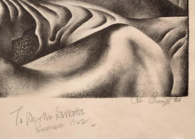 Mako Sica (Tchaikovsky's Sixth, The Badlands) - American Modern Print by Ross Eugene Braught